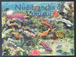 Vanuatu - 2008 Native Gill Snails Sheet MNH__(THB-1828) - Vanuatu (1980-...)