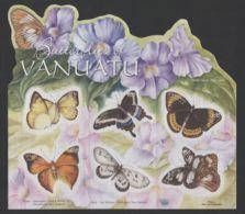 Vanuatu - 2010 Butterflies Sheet MNH__(THB-466) - Vanuatu (1980-...)