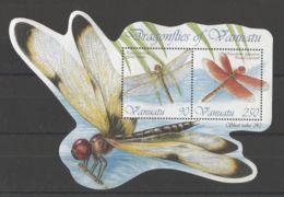 Vanuatu - 2012 Dragonflies Block MNH__(TH-16378) - Vanuatu (1980-...)
