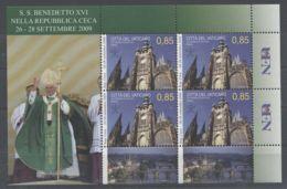 Vatican - 2010 Pope Trips Kleinbogen (3) MNH__(TH-9786) - Blocks & Kleinbögen