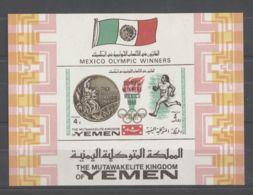 Yemen (Kingdom) - 1968 Mexico Block (1) MNH__(TH-9640) - Jemen