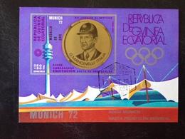 Equatorial Guinea, Souvenir Sheet « Munich 72 », « Equestrian » - Äquatorial-Guinea