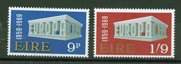 Europa CEPT 1969 Irlande - Ireland - Irland Y&T N°232 à 233 - Michel N°230 à 231 *** - Europa-CEPT