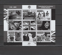 Gibraltar 2004 Tercentenary Of British Gibraltar Black Print MNH - Gibraltar