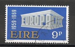 Europa CEPT 1969 Irlande - Ireland - Irland Y&T N°232 - Michel N°230 (o) - 9p EUROPA - Europa-CEPT