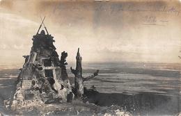 Carte Photo HARTMANNSWILLERKOPF-HARTMANNSWEILER-VIEIL ARMAND-Monument Militaire  Chasseurs Haut-Rhin-Guerre 14/18-Krieg - Other Municipalities