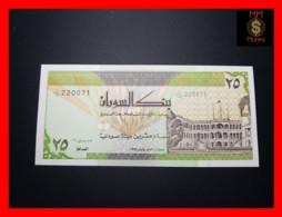 SUDAN 25 Dinars 1992 P. 53 B  UNC - Soudan