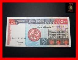 SUDAN 500 Dinars 1998 P. 58 B - Soudan