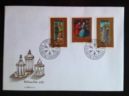 Liechtenstein, Uncirculated FDC, « Christmas », 1989 - Briefe U. Dokumente