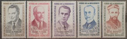 DF40266/1845 - 1960 - FRANCE - HEROS DE LA RESISTANCE - SERIE COMPLETE - N°1248 à 1251 NEUFS** - Ongebruikt