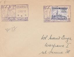 BELLE OBLITERATION GDANSK / DANZIG - 1937 - Machine Stamps (ATM)