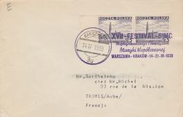 BELLE OBLITÉRATION FESTIVAL VARSOVIE 1939 - Machine Stamps (ATM)