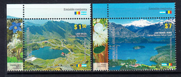 2010 Argentina Links With Romania Flags JOINT ISSUE Complete Set Of 2 MNH - Argentinien