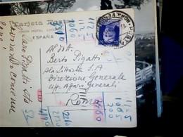 ESPAGNE , MALLORCA , PUERTO DE POLLENSA VB1939 DA ROMA BIANCHERI AMMIRAGLIO? X PIGATTI ALA LITTORIA  HP9023 - Mallorca