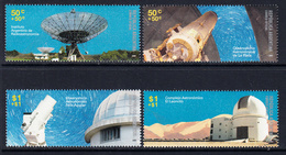 2009 Argentina Astronomy Observatory  Semi-postals Complete Set Of 4 MNH - Ungebraucht