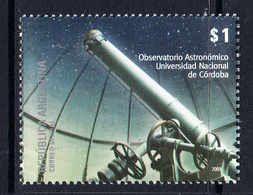 2009 Argentina Astronomy Telescope Observatory  Complete Set Of 1 MNH - Ungebraucht