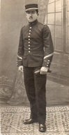 V05x  Photo Militaire Soldat Du 99 Eme Régiment - Uniformen