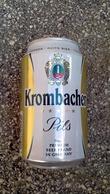 Lattina Italia - Birra Krombacher  - 33 Cl -  ( Lattine-Cannettes-Cans-Dosen-Latas) - Latas