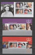 Gibraltar 2006 Michel 1154-1157, Bl. 71-72 80th Birthday Of Queen Elizabeth II Set Of 4 + 2 S/s MNH - Gibraltar