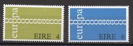 Europa CEPT 1971 Irlande - Ireland - Irland Y&T N°267 à 268 - Michel N°265 à 266 *** - 1971