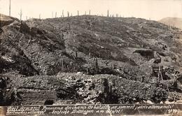 Carte Photo HARTMANNSWILLERKOPF-HARTMANNSWEILER-VIEIL ARMAND-Champ Bataille-Abris Militaire Haut-Rhin-Guerre 14/18-Krieg - Other Municipalities