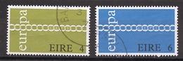 Europa CEPT 1971 Irlande - Ireland - Irland Y&T N°267 à 268 - Michel N°265 à 266 (o) - 1971