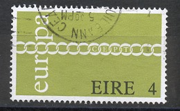 Europa CEPT 1971 Irlande - Ireland - Irland Y&T N°267 - Michel N°265 (o) - 4p EUROPA - 1971