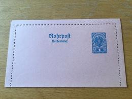 KS3 Österreich Ganzsache Stationery Entier Postal RK 15 - Entiers Postaux