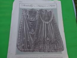 Voile De Mariée -la Princesse Carlos De Bourbon Et SAR Mme La Duchesse D'orleans (tirée Dans La Revue Femina) - Vieux Papiers