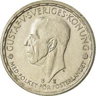 Monnaie, Suède, Gustaf V, 2 Kronor, 1950, TTB, Argent, KM:815 - Sweden