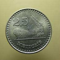 Moçambique 2,5 Meticais 1980 - Mozambique
