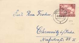 DR Brief EF MI.837 Dresden 8.10.1944 - Deutschland