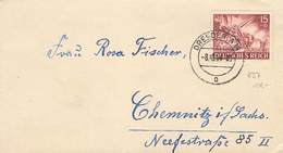 DR Brief EF MI.837 Dresden 8.10.1944 - Germany