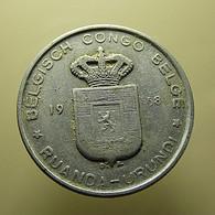 Belgian Congo 5 Francs 1958 - Congo (Belga) & Ruanda-Urundi