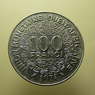 West Africa States 100 Francs 1974 - Coins