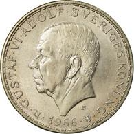 Monnaie, Suède, Gustaf VI, 5 Kronor, 1966, SUP+, Argent, KM:839 - Sweden