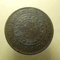 Brazil 40 Reis 1908 - Brasil
