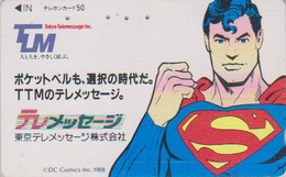 Télécarte Japon / 110-011 - MANGA - SUPERMAN - ANIME Japan Phonecard - 12002 - Stripverhalen