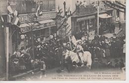 CPA Yssingeaux - 24 Octobre 1909 - Les Fêtes De Jeanne D'Arc - Le Cortège (Jeanne D'Arc) (très Belle Animation) - Yssingeaux