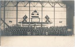 Nieuwmunster / Houtave / Originele Groepsfoto V/d II Marine Feldflieger Abteilung Naar Aanleiding V/d 2de Verjaardag. - Oorlog 1914-18
