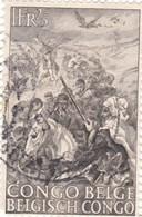 TIMBRE 0045 - Congo Belge - Y&T BE-CD 274 De 1947 - 1 Franc 25 - Slaves And Arab Guards - Congo Belge