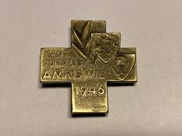 Sport Insigne Kant. Turnfest AMRISWIL 1946 Suisse Sportabzeichen - Gymnastiek