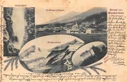 GRUSS Aus NEUKIRCHEN AUSTRIA~RUINE HIEBURG-GROSVENEDIGER-PINZGAU-SULZBACHFAL~1890 MULTI PHOTO POSTCARD 46372 - Neukirchen Am Grossvenediger