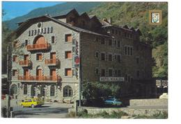 CPM ANDORRE VALLS D'ANDORRA ENCAMP Hôtel Rosaleda Panneau ELF - Andorra