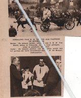 EPPEGHEM..1932..INHALING VAN E.H. DE VOS ALS PASTOOR/ Z.E. H. VAN REETH DEKEN VAN VILVOORDE/ E.H. DE MAEYER ONDERPASTOOR - Vieux Papiers