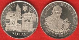 """Romania 50 Bani 2019 """"Pope Francis"""" UNC - Roemenië"""