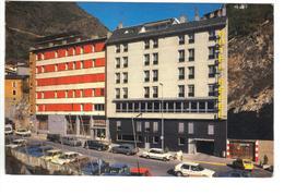 CPM ANDORRE ANDORRA ESCALDES Hôtel ESPEL Plaça De La Creu Bianca Voitures - Andorra