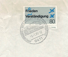 8411 Beratzhausen - Tal Der Schwarzen Laaber - Oberpfälzer Jura - Erholungsort - Briefstück SST - BRD
