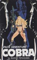 Télécarte Japon / 110-011 - MANGA EROTIQUE - SPACE ADVENTURE COBRA - Erotic ANIME Japan Phonecard - 12003 - Stripverhalen