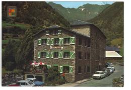 CPM ANDORRE ANDORRA ARINSAL Auberge Poblado Voitures - Andorra